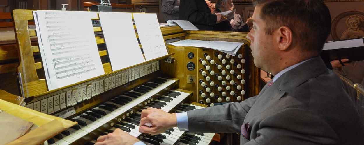 Gesù-organiste